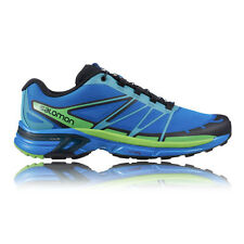 Salomon Wings Pro 2 Mens Sensifit Cushioned Trail Running Sports Shoes Trainers