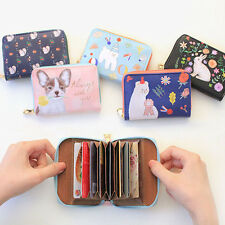 With Alice & Rim - Accordion Card Wallet - Credit Card Holder Case Mini Wallet