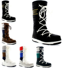 Ladies Tecnica Original Moon Boot Quilted Sking Snow Mid Calf Boots All Sizes