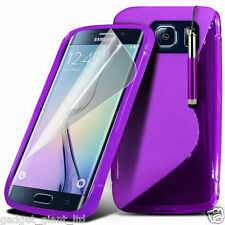 Samsung Galaxy S7 S Line Wave Gel Skin Case Cover Plastic Hydro Pouch Flexible