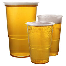 "Disposable Party Glasses,Flutes,Pints, Half Pint, Red Party Beer Cups u ""Choose"""