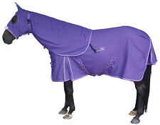 CARIBU Purple Ripstop Paddock Horse Rug & Hood Set, Built Tough. Size 5'0 to 6'9