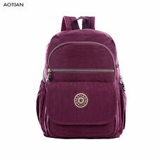 AOTIAN Women's Girl's School Fashion Canvas Bag Outdoor Travel Small Backpack