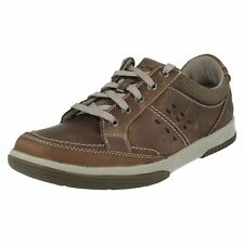 MENS CLARKS WAVECAMP PATH LACE UP NUBUCK CASUAL LIGHTWEIGHT WALKING SPORTY SHOES