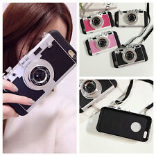 Fashion Stylish 3D Camera Skin Phone Case Cover For Apple iPhone 6S 6 Plus Hot