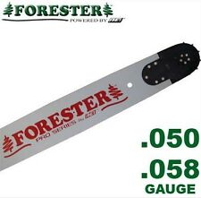 "Forester Professional Chainsaw Bar 20"" 5-Rivet for Husqvarna Fits Large Mount"