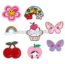Cute Various Patterns Embroidered Iron On Patch Sew Motif Applique Accessories