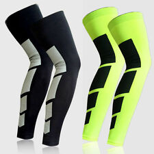Basketball Football Legging Leg Knee Pad Long Sleeve Protector Sport Tights Gear