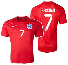 NIKE DAVID BECKHAM ENGLAND AWAY JERSEY FIFA WORLD CUP BRAZIL 2014