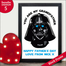 Grandad Fathers Day Gifts Star Wars Darth Vader Personalised Fathers Day Gifts