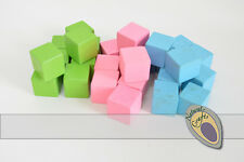 MIXED Colour Wooden Counting cubes 2cm
