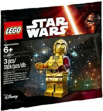 LEGO Star Wars C-3PO C3PO Red Arm The Force Awakens Minifigure Polybag 5002948