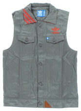 Adidas Mens Adidas Originals Utility Jacket Vest Grey