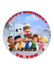 "7.5"" SNOOPY PERSONALISED EDIBLE FONDANT/WAFER RICE CAKE TOPPER"