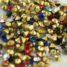 1.5-10mm mixed pointed back Crystal beads rhinestones Glass Chatons Strass y-pk