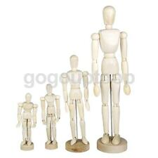 Wooden Manikin Mannequin Jointed Figures Artists Sketch Sketching Drawing Model