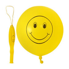 Smiley Face Design Punch Balloons. Perfect for Kid's Parties!