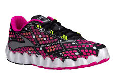 NEW WOMENS BROOKS NEURO RUNNING SHOES TRAINERS PINK GLO / BLACK / NIGHTLIFE