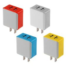 2.1A/1.5 A Dual 2-Port USB Wall Adapter US Charger For iPhone LG Android Phones