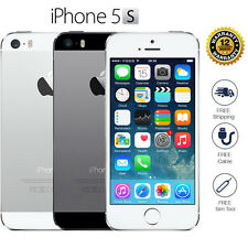 Apple iPhone 5s 16GB 32GB Factory Unlocked Smartphone Sim Free Grey Silver Gold