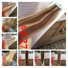 """16""""18""""20"""" Skin Weft Tape In 100% Remy Brazilian Virgin Human Hair Extensions"""