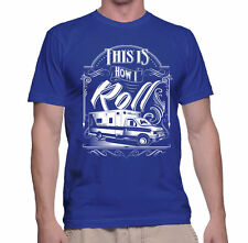 T Shirt How We Roll S Mens Tee EMS Medical Gift Funny Emergency RN Humor Road Ts