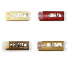 Hurraw! Lip Balm Organic Moon Black Cherry Coconut Chocolate Natural Ointment