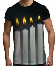 Four Candles Fork Handles Joke Classic Comedy Sketch Funny Unisex Mens T Shirt