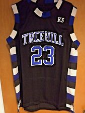 One Tree Hill Nathan Scott #23 Ravens Black Basketball Jersey S, M, L, XL, 2XL