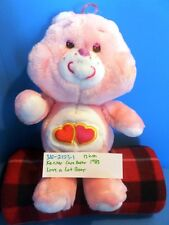 Kenner Care Bears Pink Love a Lot Bear 1983 plush(310-2153-1)