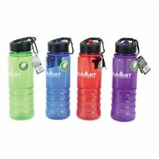Summit 700ml Tritan Sports Water Bottle With Folding Straw camping travel NEW