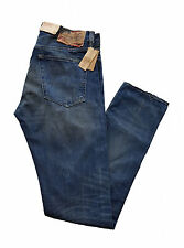 "Ralph Lauren Denim & Supply Mens Jeans Tapered Straight Waist 32"" Leg 34'' New"