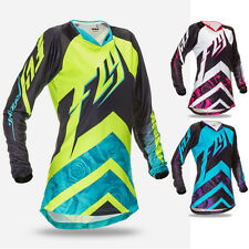 Fly Racing Kinetic Race Girls Youth Off Road Dirt Bike Racing Motocross Jerseys