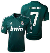 ADIDAS REAL MADRID CRISTIANO RONALDO UEFA CHAMPIONS LEAGUE THIRD JERSEY 2012/13