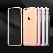 Luxury Electroplating TPU Soft Case Cover For Apple iPhone 6 6s Plus 5 5s SE