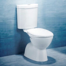 NEW - Caroma Tempo Connector Toilet Suite with Profile Seat White - S or P-Trap
