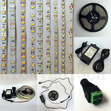 5M LED Flexible Strip Light 3528 2835 3014 5050 5630 7020 with 12V Power Supply
