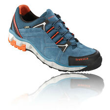 Treksta Libero Mens Blue Waterproof Gore Tex Trail Running Sports Shoes Trainers