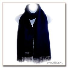 """New * D&Y* Fashion Solid  """"SOFTER THAN CASHMERE?""""Scarf / NAVY"""