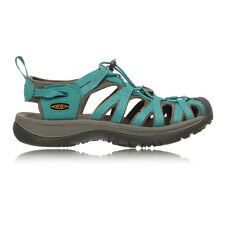 Keen Whisper Womens Green Water Resistant Summer Shoes Trail Walking Sandals