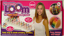 Friendship Loom Rubber Band Jewellery Maker Including 600 Loom Bands