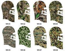 Unisex Camouflage Equipment Face Mask Soft scarf CS Call of Duty Tactical Ghost