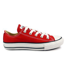 Youths Converse Red Chuck Taylor All Star Oxford Trainers