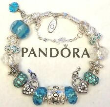 NEW AUTHENTIC PANDORA CHARM BRACELET 925 ALE Sterling Silver European Beads #17