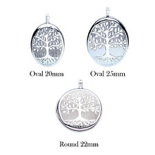 925 Sterling Silver Tree of life Locket
