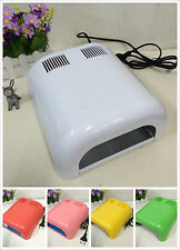 Pro New 36W Manicure Nail Polish UV Lamp Dryer Gel Curing Acrylic Timer Light