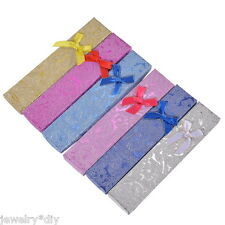 Wholesale JD Mix Package Paper Jewelry Necklace Bracelet Gift Box Case Bowknot