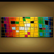 extra large wall art hand painted abstract oil painting on canvas modern