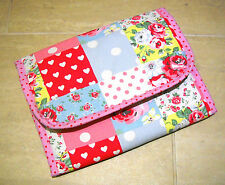 Handmade baby travel changing mat for bag -Oilcloth & Cath Kidston Patchwork