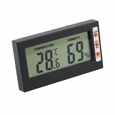 New Digital LCD Thermometer Hygrometer Temperature Humidity Meter Gauge LC - UK